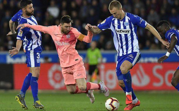 Barcelona ត្រូវការឈ្នះ១ប្រកួតទៀត ដើម្បីលើកពាន La Liga បន្ទាប់ពីបំបាក់ Alaves
